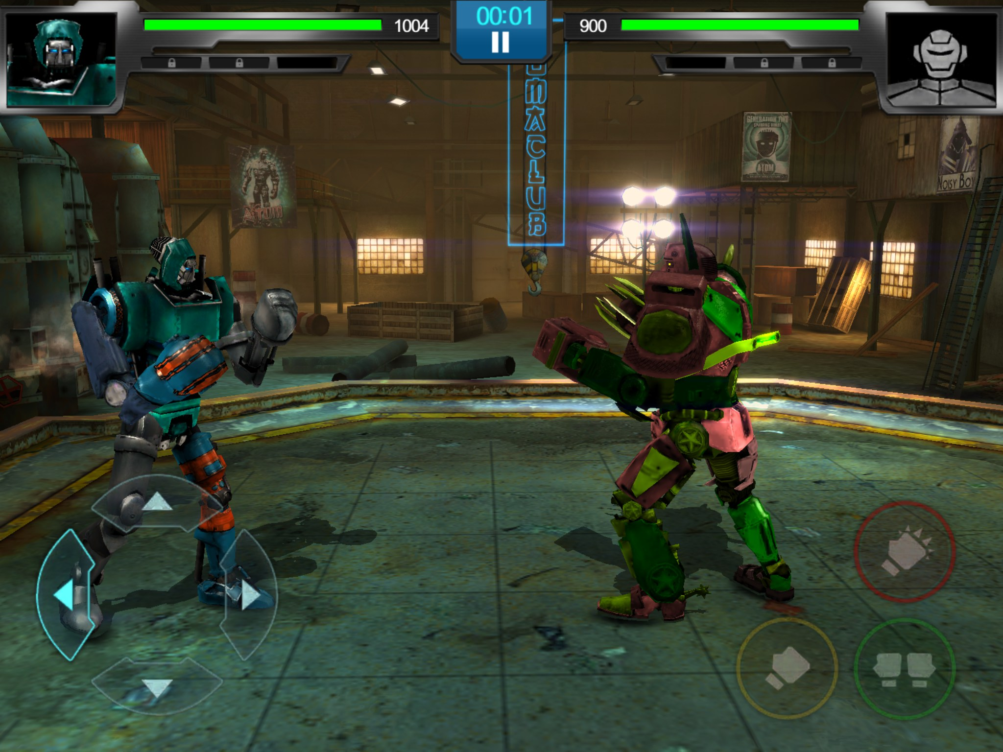 Real Steel Champions For Nokia Lumia 610 2018 Free