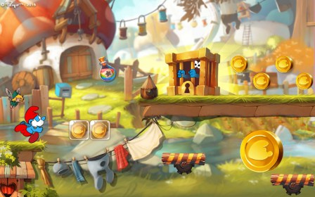 Smurfs Epic Run para Samsung GT-S6500 Galaxy Mini 2