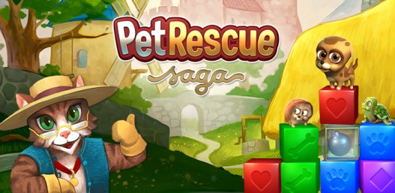 Pet Rescue Saga for HTC Droid Incredible