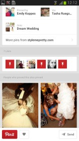 Pinterest for LG Optimus LTE 2