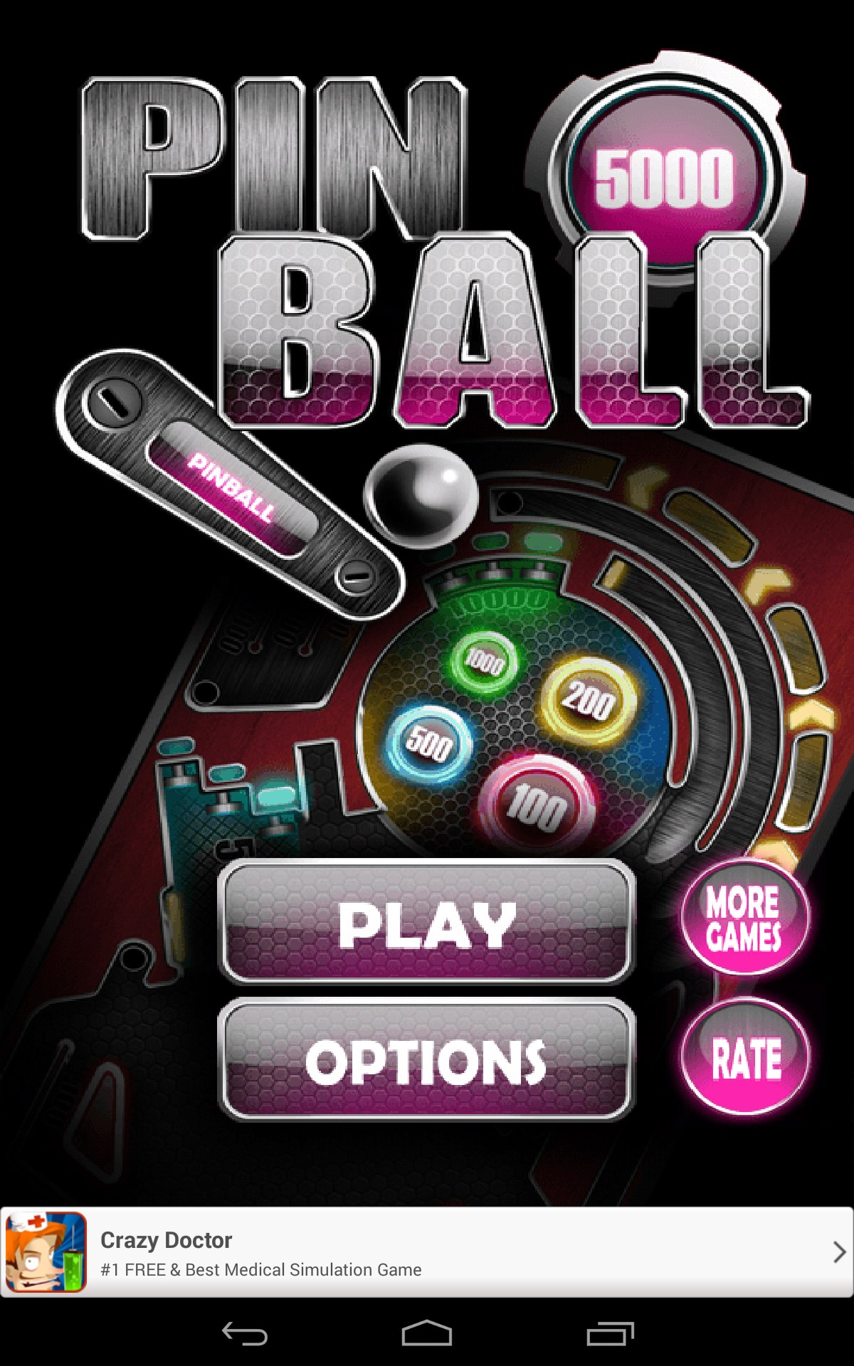 Pinball Pro for Samsung GT-S5360 Galaxy Y 2018 – Free
