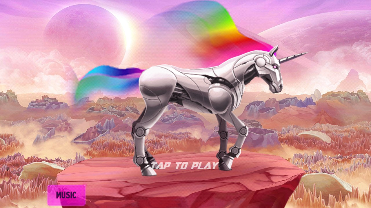 Robot Unicorn Attack 2 Juegos Para Android 2018 Descarga Gratis