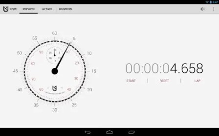 Ultimate Stopwatch Timer for Alcatel One Touch 990