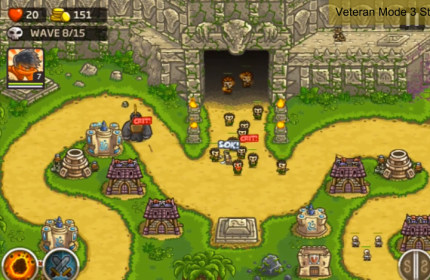 Kingdom Rush Frontiers for RoverPad Air S70
