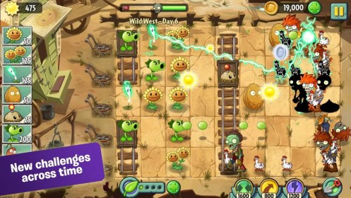 Plants vs. Zombies 2 for Samsung Galaxy S4 Mini