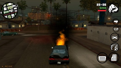 Grand Theft Auto: San Andreas para Samsung GT-S5300 Galaxy Pocket