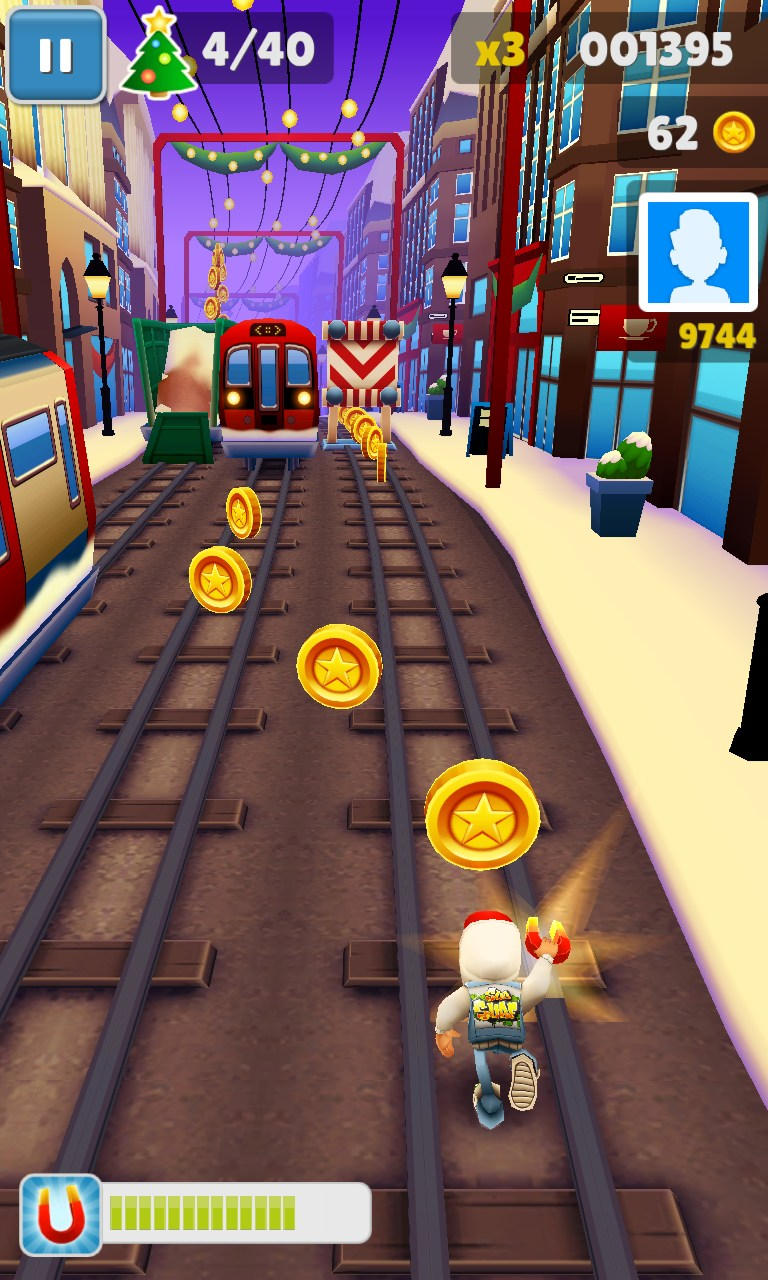 Online Subway Surfers Game