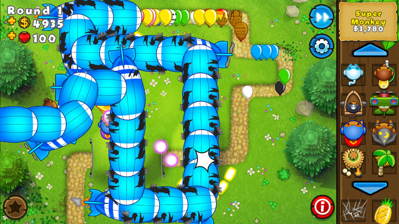 Bloons TD 5 – Games for Android. Bloons TD 5 – Fancy tower defense