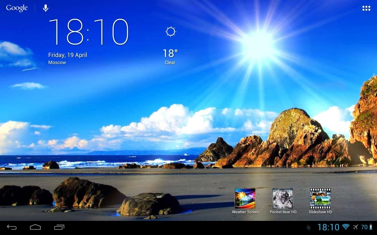 Weather Screen For Lg L70 Soft For Android Smartphones