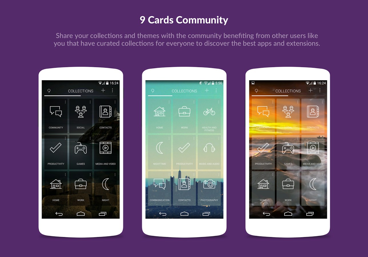 9 Cards Home Launcher for Vivo Xshot 2018 – Free download