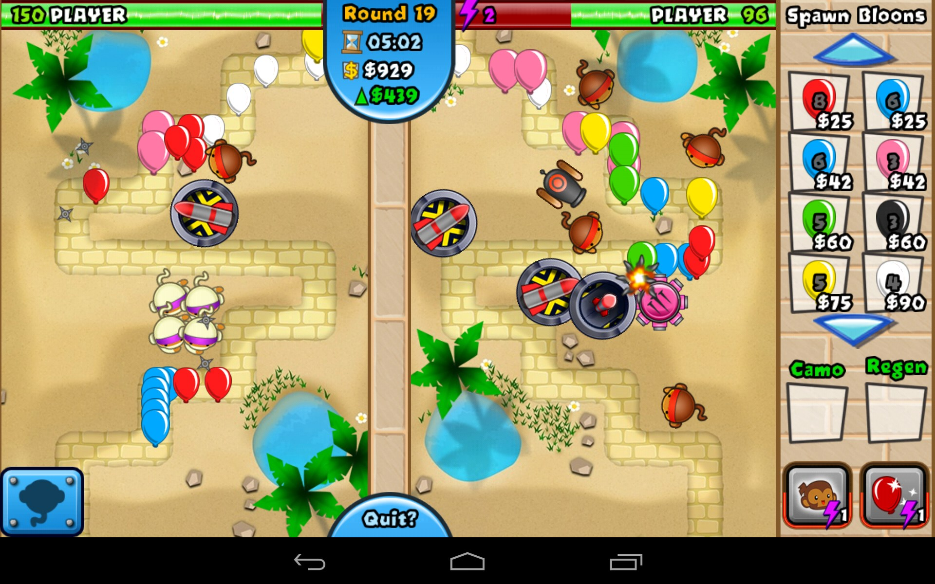 Bloons TD Battles for Amazon Kindle Fire – Free download ...