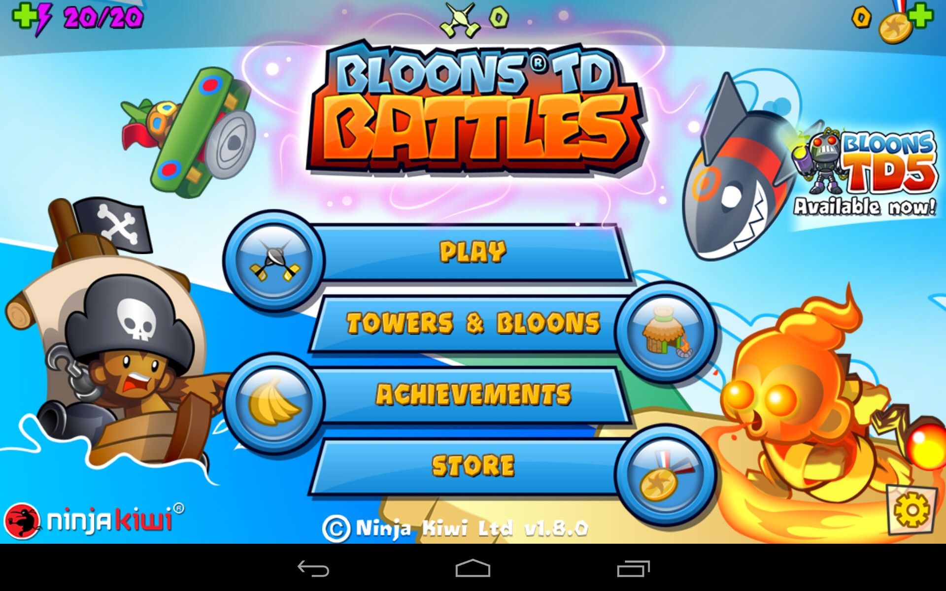 Bloons TD Battles – Games for Android – Free download. Bloons TD ...