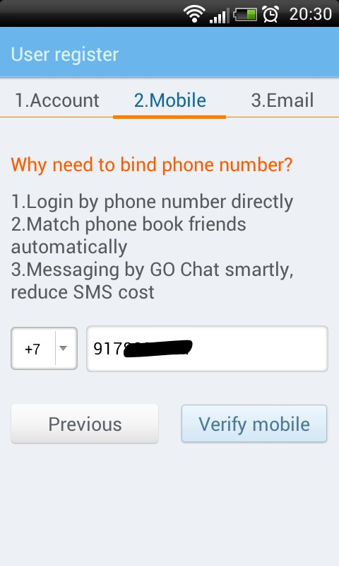 how to customize go sms pro