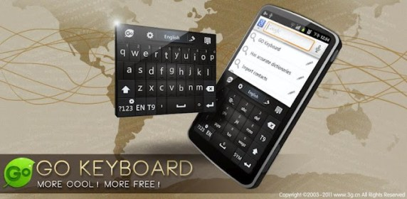"GO Keyboard for iRU Pad Master A10 (10"")"