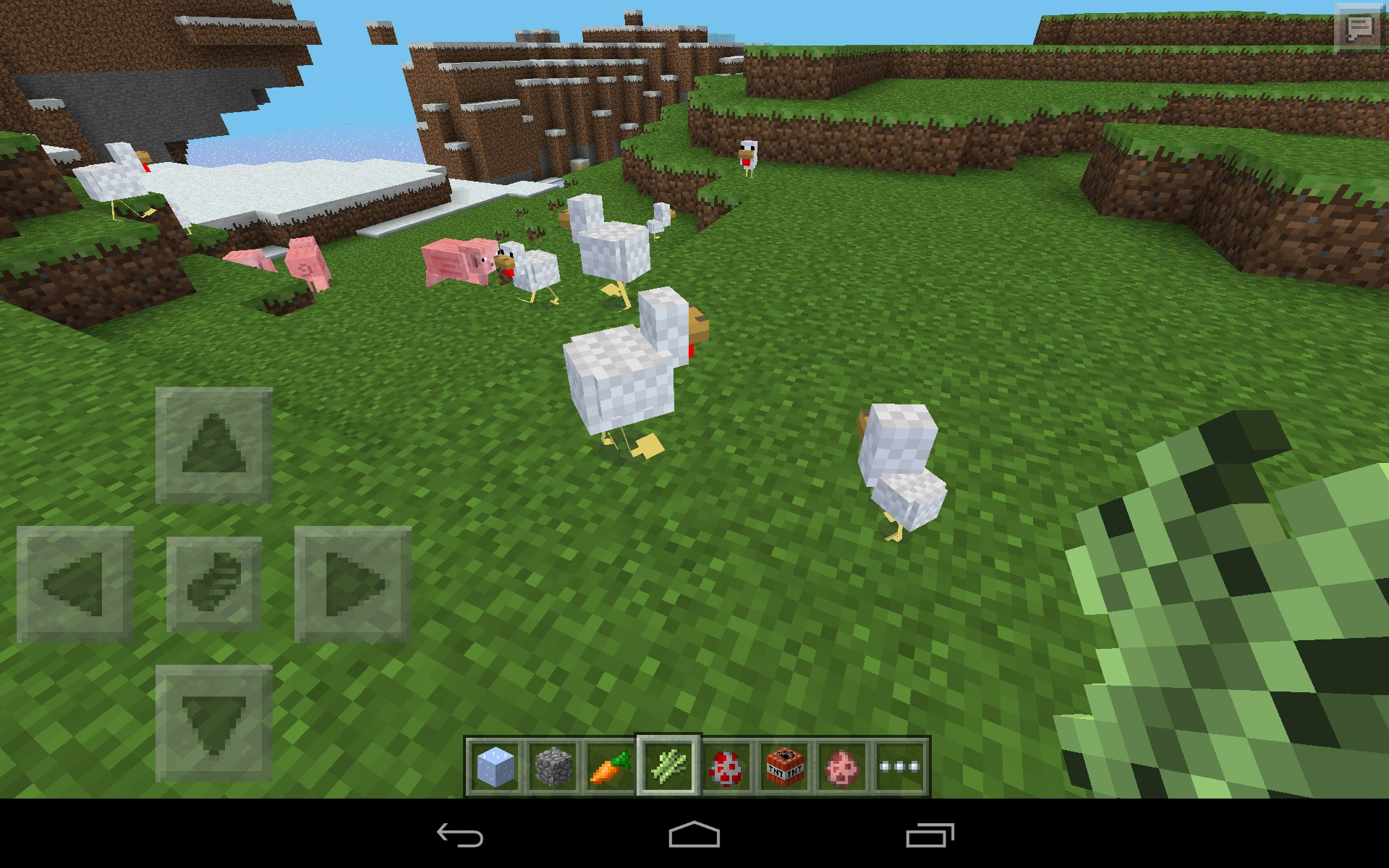 Minecraft pocket edition for samsung galaxy tab 3 7 0 for Mine craft pocket addition