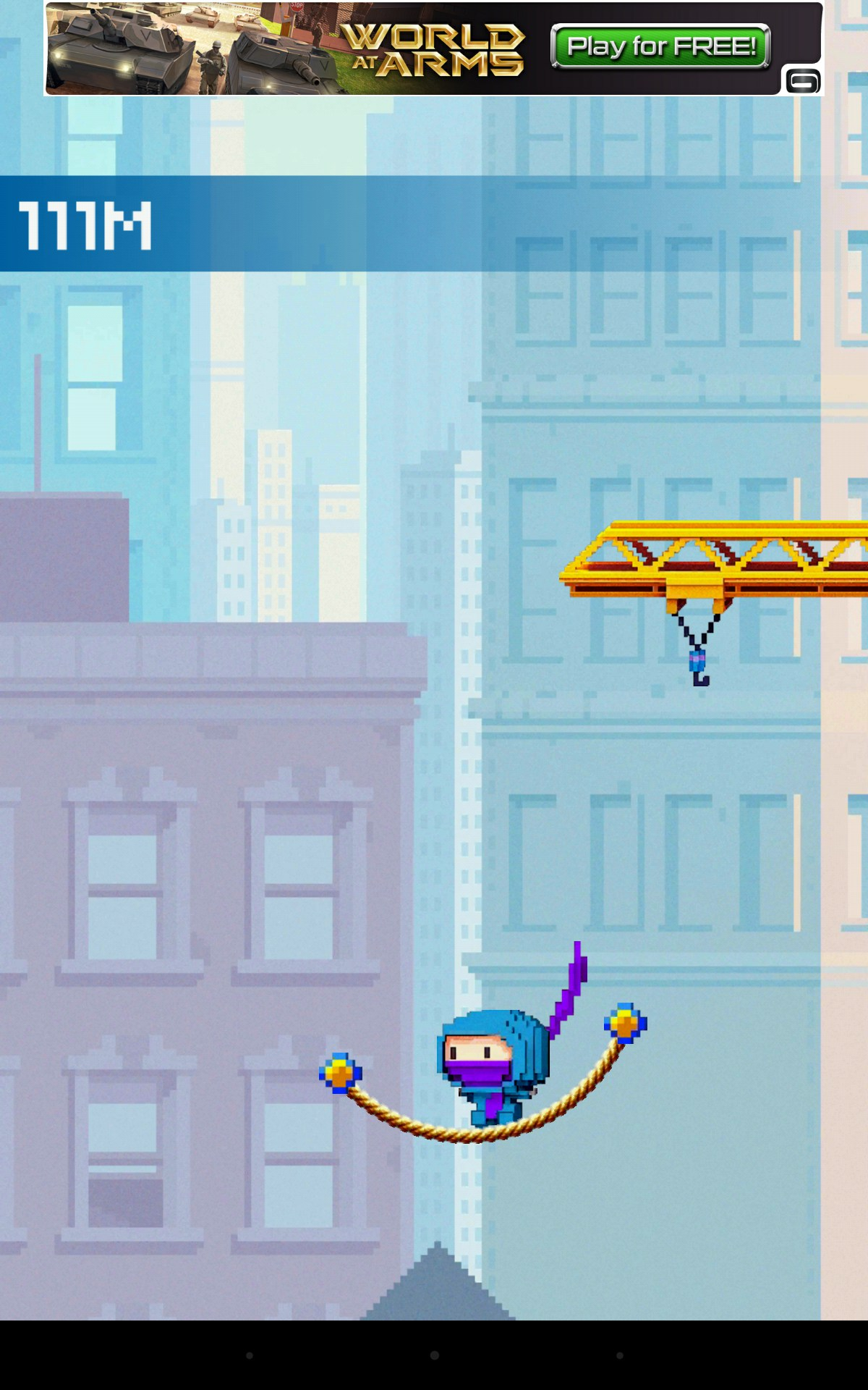 Ninja UP! for Alcatel One Touch 922 2018 – Free download games for