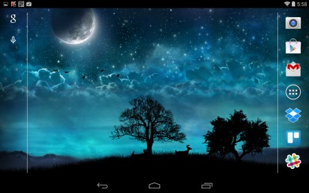 Dream Night Free LiveWallpaper
