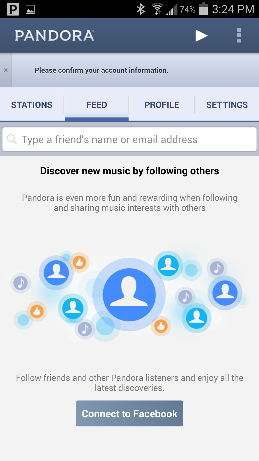 Pandora® internet radio for Lenovo Yoga Tablet 8 – Free download soft for Android tablets
