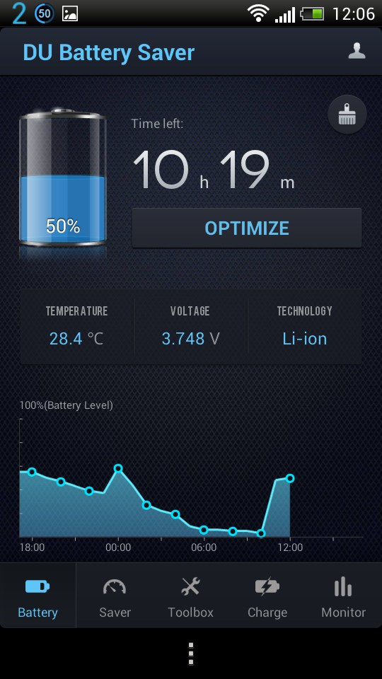 du battery app download