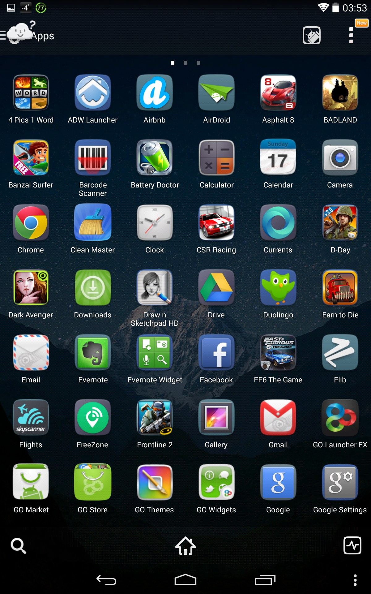 GO Launcher EX For Sony Xperia J