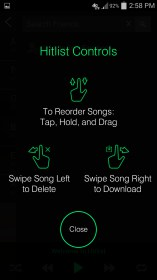 Hitlist - Share Music Player