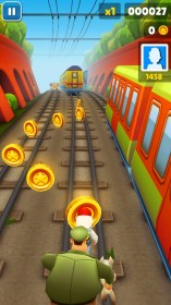 Subway Surfers for Samsung GT-S5300 Galaxy Pocket