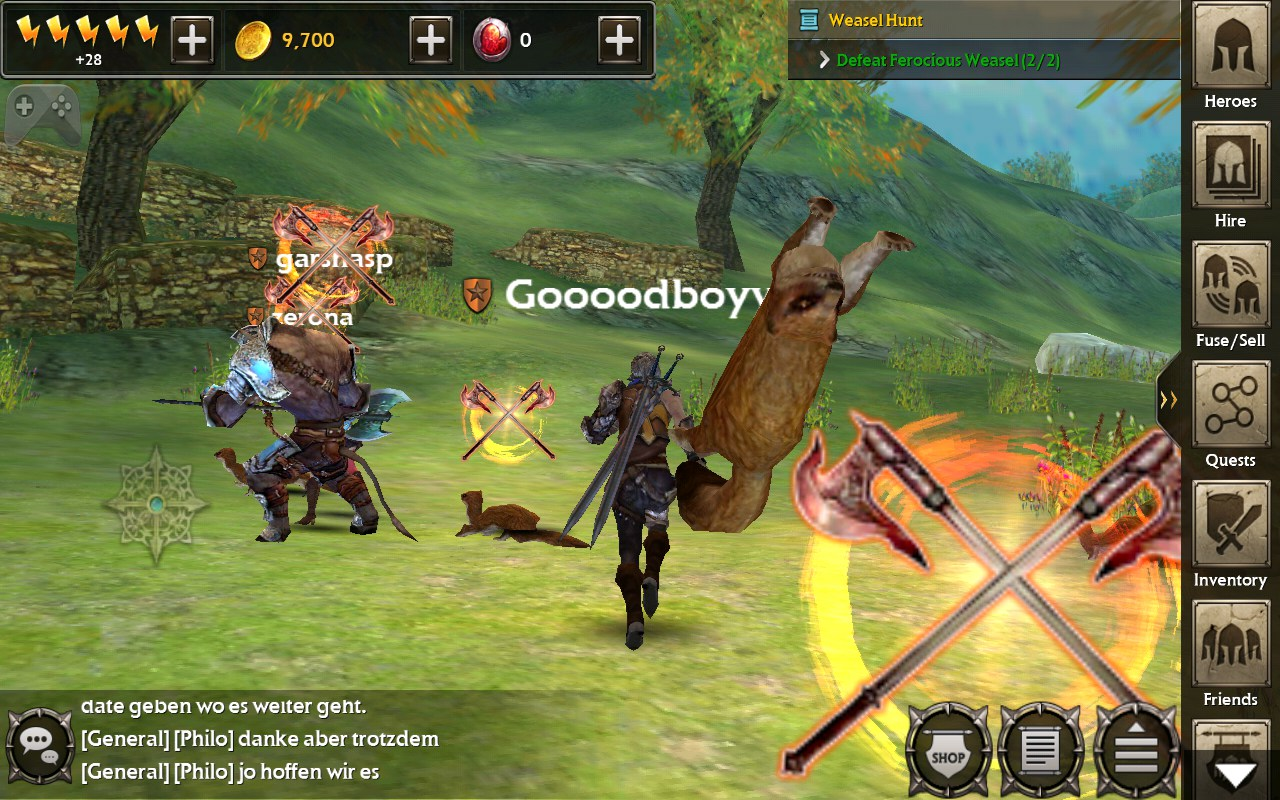 hack and slash games online
