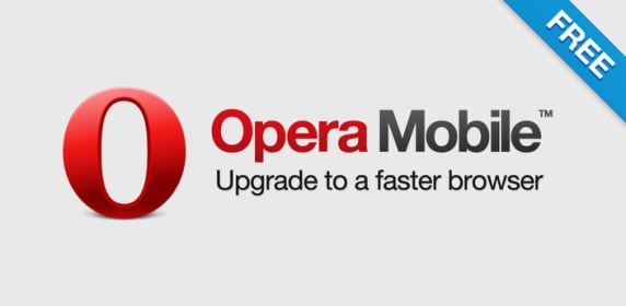Opera Mobile for LG Optimus 3D Max