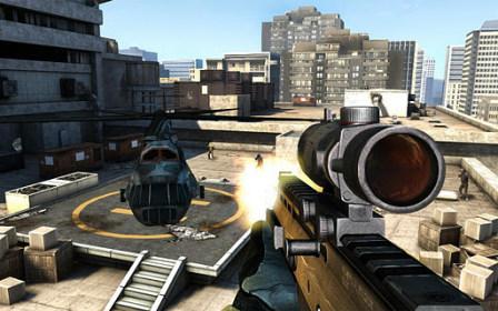 Modern Combat 3: Fallen Nation for Sony Xperia sola