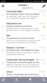 SolMail - All-in-One email app para Samsung S5670 Galaxy Fit