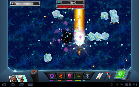 A Space Shooter for HTC Desire 200