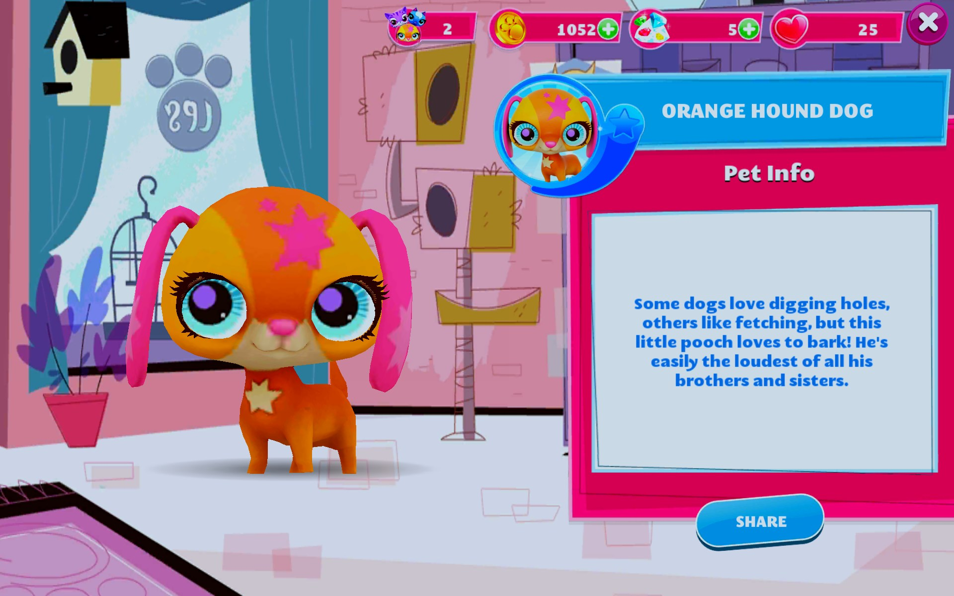 Littlest pet shop game app - How much is chicken alfredo at