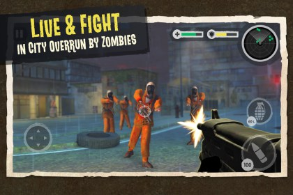 Zombie Combat: Trigger Call FPS Modern Shooter