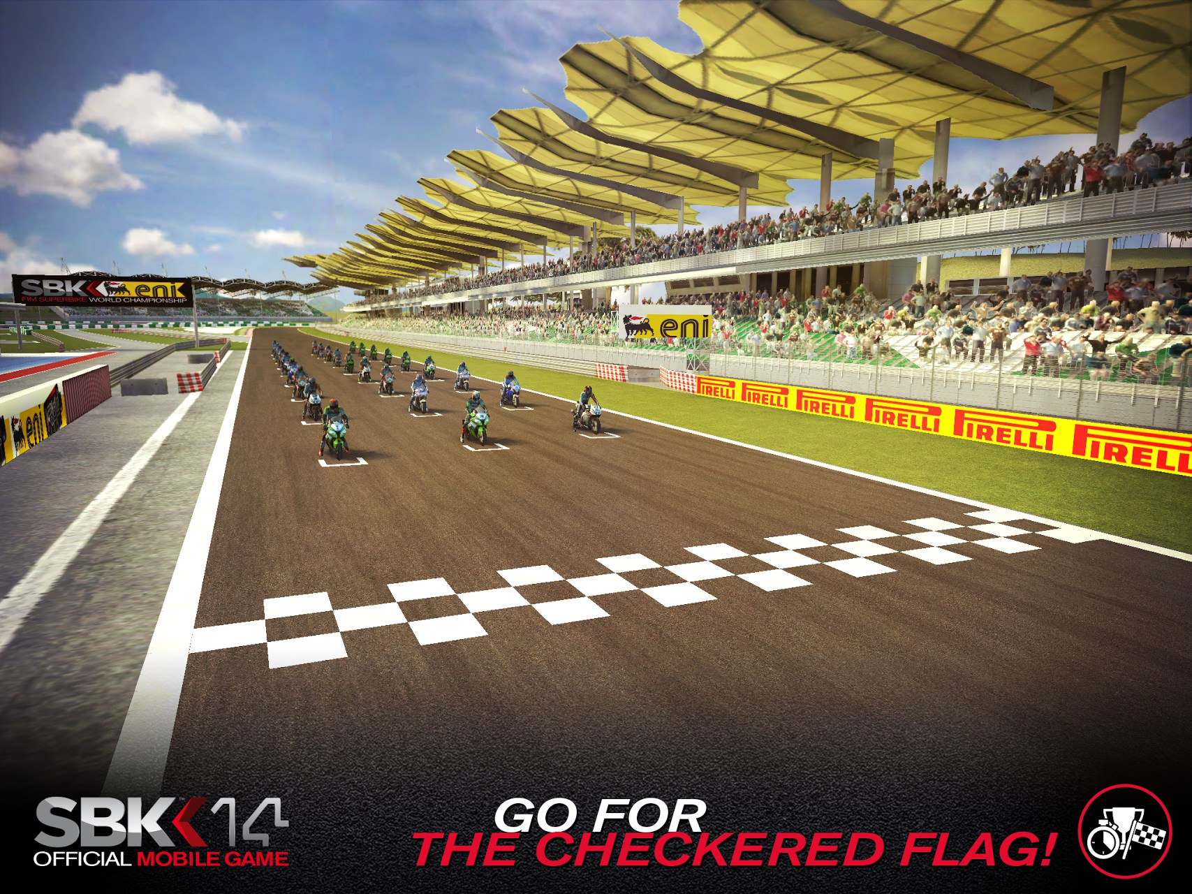 SBK14 Official Mobile Game for Samsung GT-S6102 Galaxy Y
