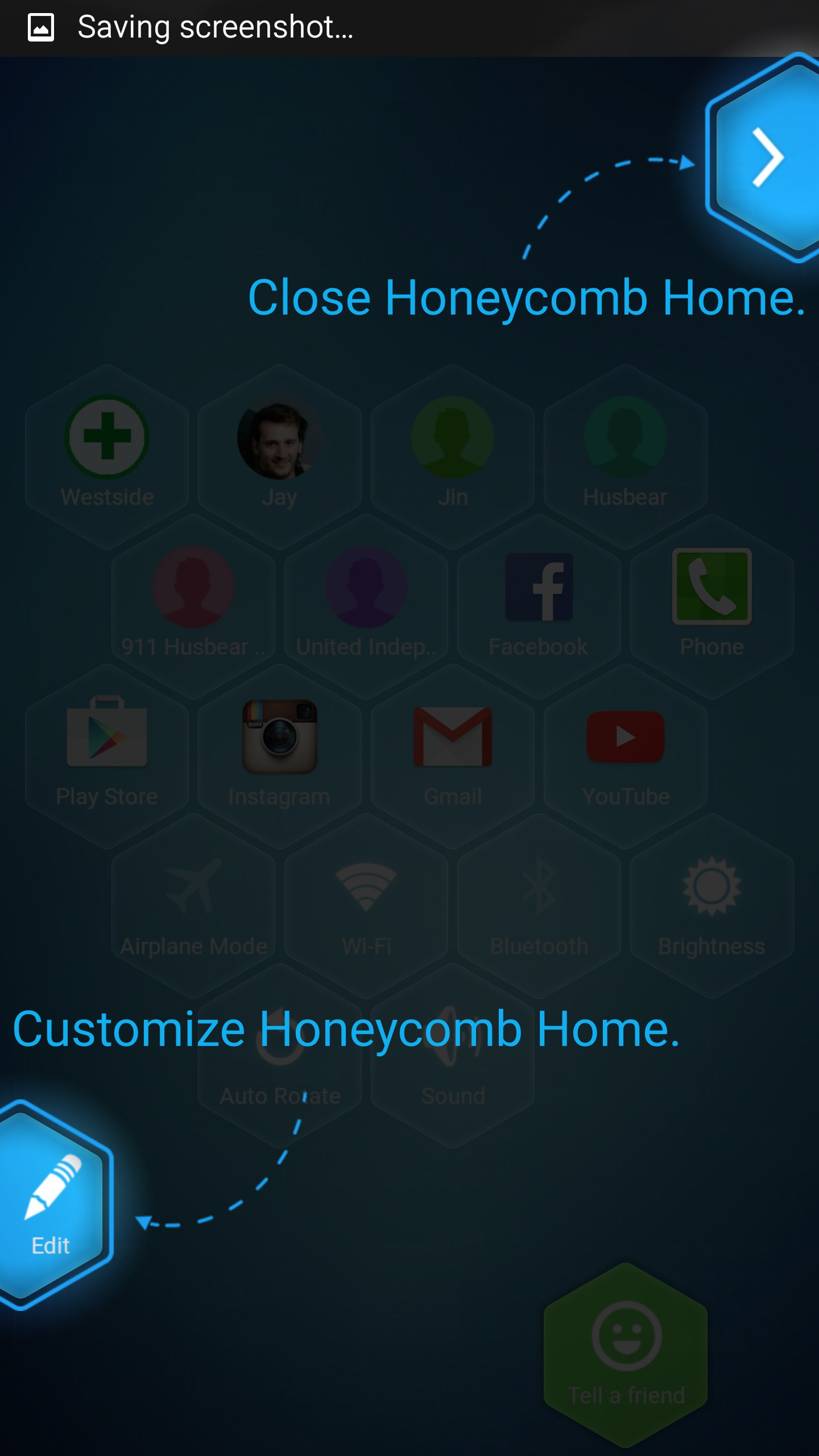 Honeycomb Launcher for Toshiba AC100 2018 – Free download