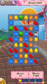 Candy Crush Saga para Samsung GT-I5800 Galaxy 580